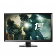 Lenovo 23.6-inch Gaming Monitor with LED Display, TN Panel, VGA and HDMI Ports, Raven Black (D24-10)